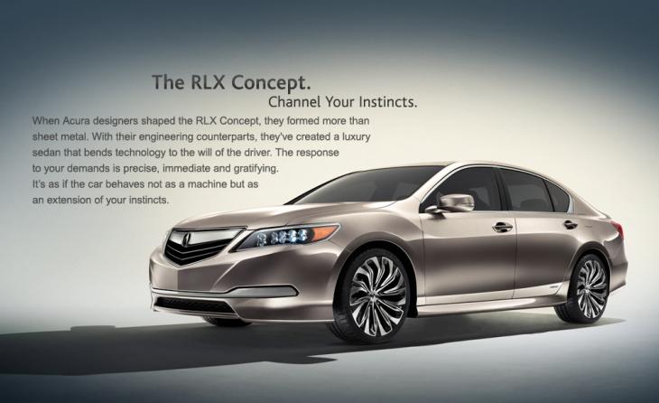 Acura RLX, concept car